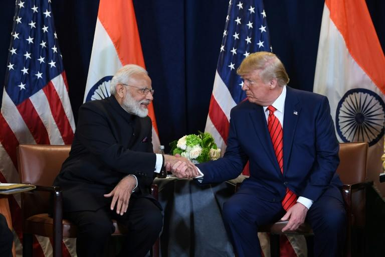 Trump's blossoming bromance with Prime Minister Narendra Modi will be on show again