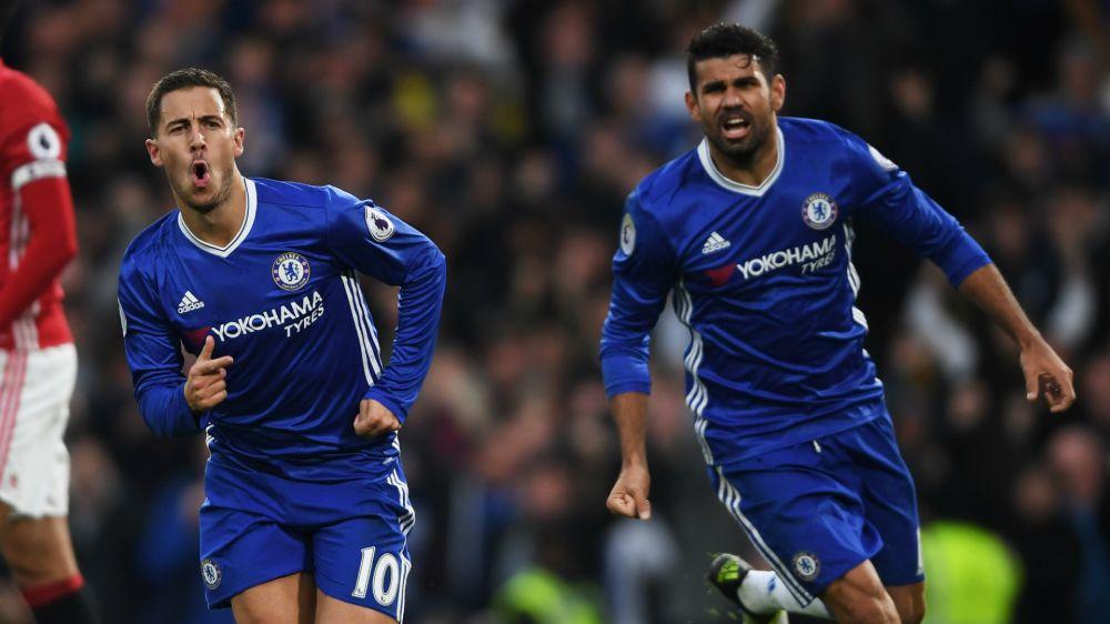 Chelsea, Hazard souhaite le retour de Diego Costa