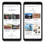 Google's Collections feature now pushes people to save recipes & products, using AI