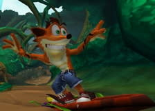 Today's potential franchise relaunch video: Crash Bandicoot