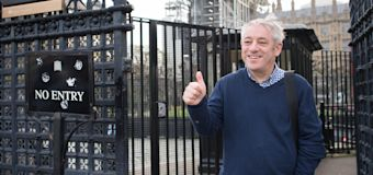 John Bercow denies his defection to Labour is plot for peerage