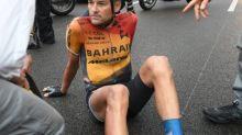 Tour de France - Rafael Valls, clavicule fracturée, est le premier abandon du Tour 2020