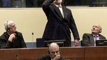 Réu bósnio-croata morre ao ingerir veneno durante julgamento no TPII