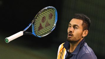 'Struggling' Kyrgios is seeing psychologists
