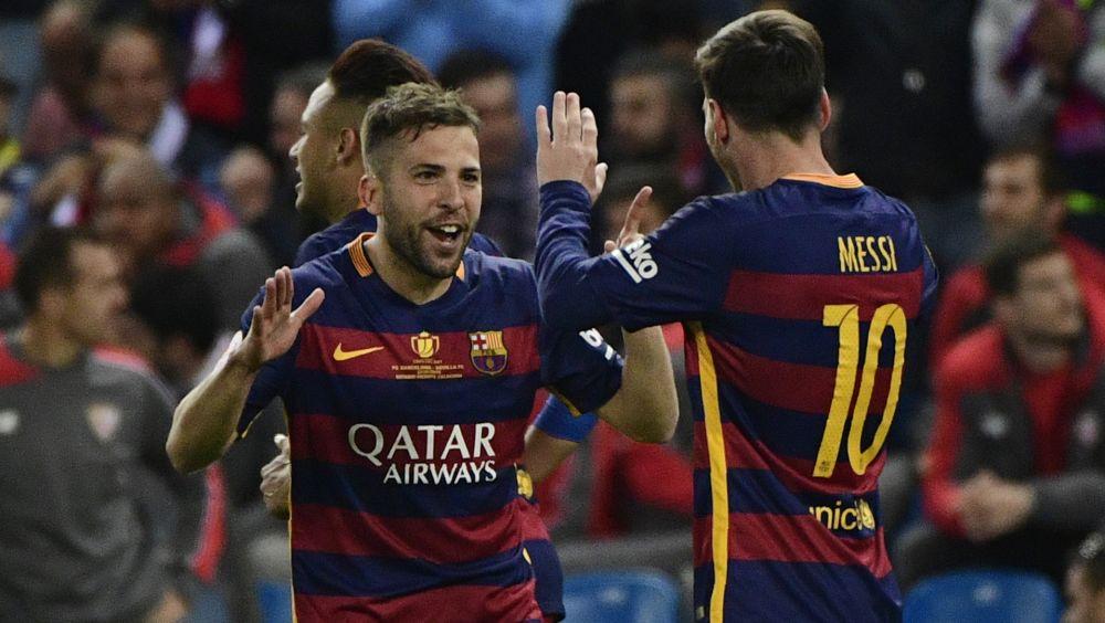 Também é dirigente? Messi bloqueia negociação de Jordi Alba com o Manchester United