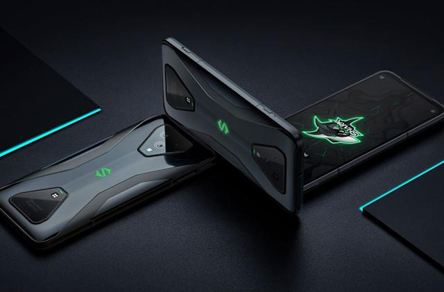 Xiaomi's Black Shark 3 Pro gaming phone has pop-up shoulder buttons