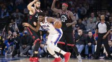 Sixers throw Raptors into funk as Kawhi Leonard's return looms