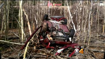 Woman Found After Being In Crashed Car For Days Remains In Critical Condition
