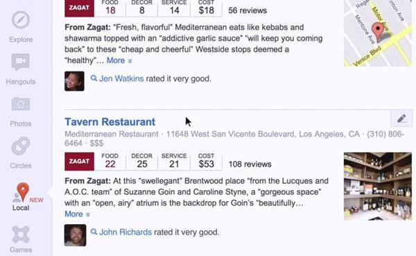 Google+ Local sees reviews from friends, Zagat invade your restaurant hunts (video)