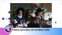 Prince Appears at French Open, Lupita Nyong'o in Star Wars