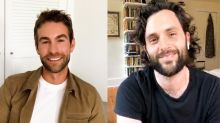 Spotted: Penn Badgley and Chace Crawford Reunite to Talk About 'Gossip Girl'