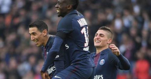 Foot - L1 - 34e j. - Le PSG bascule en tête de la L1 après son succès contre Montpellier