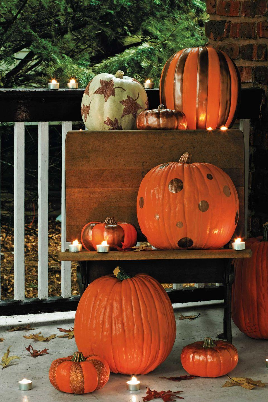 45 Fun Pumpkin Painting Ideas That Ll Make Your Porch A