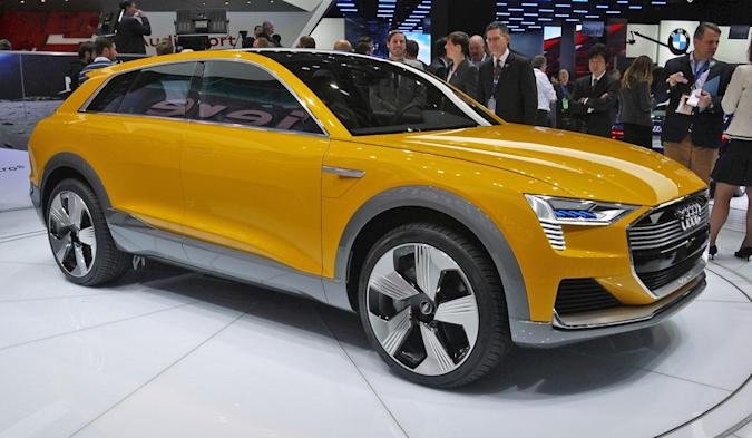 Audi is trying to beat Tesla at its own game