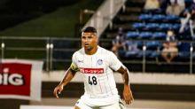 Sem chances no Cruzeiro, Halef Pitbull reconstrói carreira com gols no Mito Hollyhock, do Japão