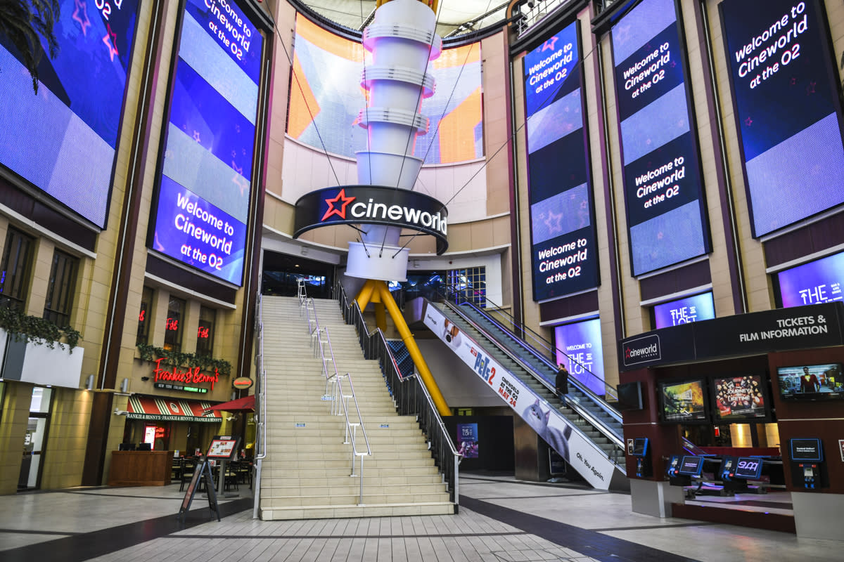 Take a look inside London's biggest cinema