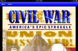 Civil War: America's Epic Struggle comes to the iPad and iPhone