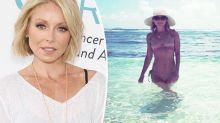 TV star, 47, trolled for posing in a bikini