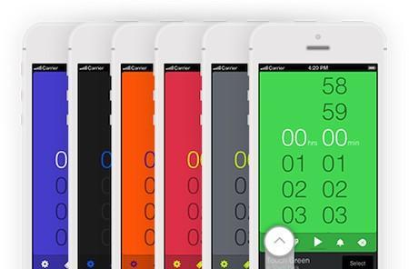 Daily iPhone App: Timeless is a colorful, multiple stopwatch and timer app for iOS