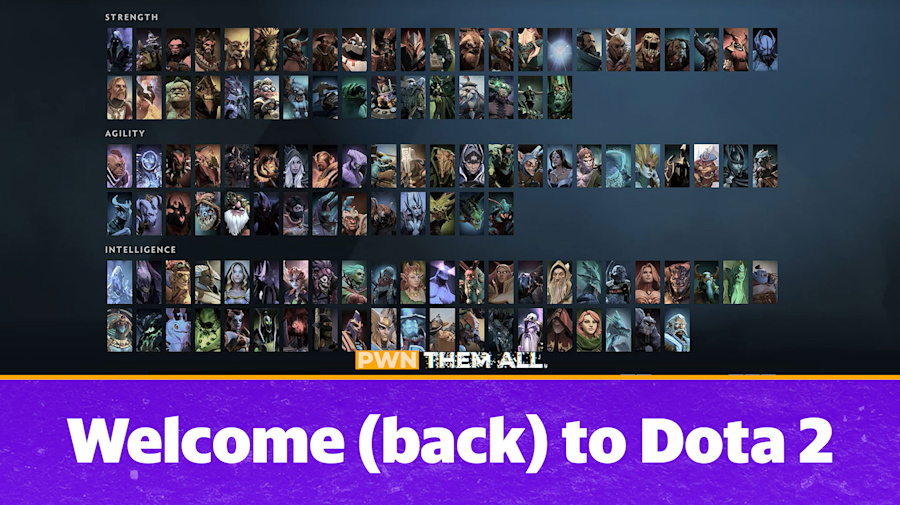 Welcome (back) to Dota 2 - PWN THEM ALL S01E01