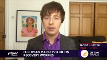 European markets slide on recovery worries