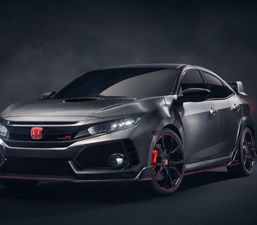 Honda Civic Type R Prototype Debuts in Paris
