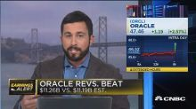 Oracle fourth-quarter-earnings beat the street