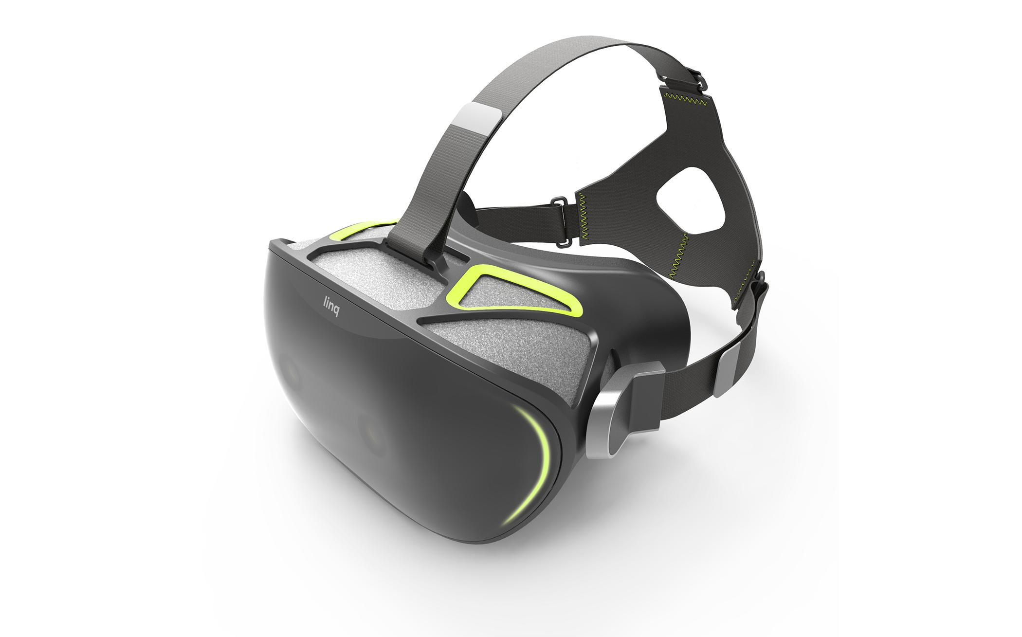 The Linq mixed reality headset blends the real and the virtual   Engadget
