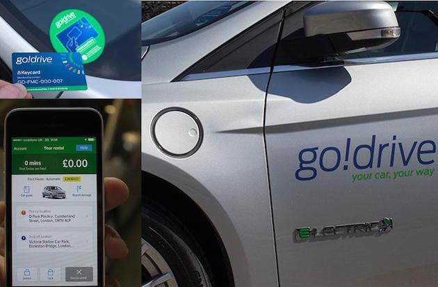Ford's GoDrive brings app-based car hire to London