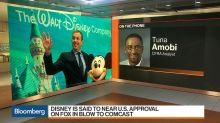 CFRA Analyst Amobi Says Don't Rule Out Comcast in Battle for Fox