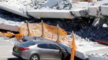 Students return to Miami school where bridge collapse killed six