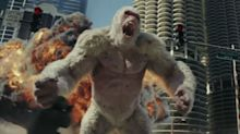 Did Dwayne Johnson's Rampage triumph at the box office?