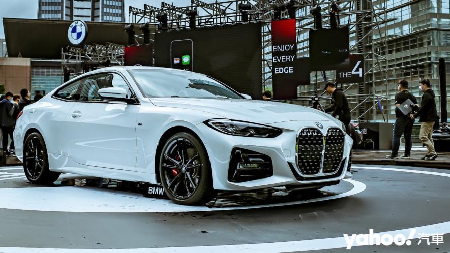 全集中呼吸法-肺之呼吸!2021 BMW 4-Series 236萬起登台上市! - 2