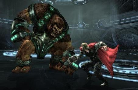 Thor and Captain America to avenge in 3D on PS3, Xbox and (of course) 3DS