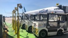 JetBlue Introduces the Largest Electric Ground Service Equipment (eGSE) Fleet at New York's JFK International Airport, Cutting Four Million Pounds of Greenhouse Gas Emissions per Year