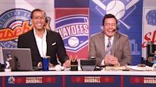 Alex Rodriguez doesn't make any sense as hilarious play-by-play announcer