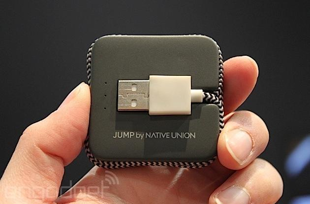 Native Union's Jump charging cable can juice up your devices on the go