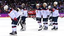Team USA shutout by Canada 1-0