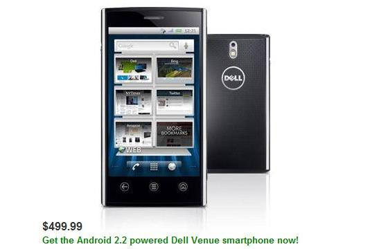 Dell Venue ready to order now for $500 unlocked, shipping February 18th