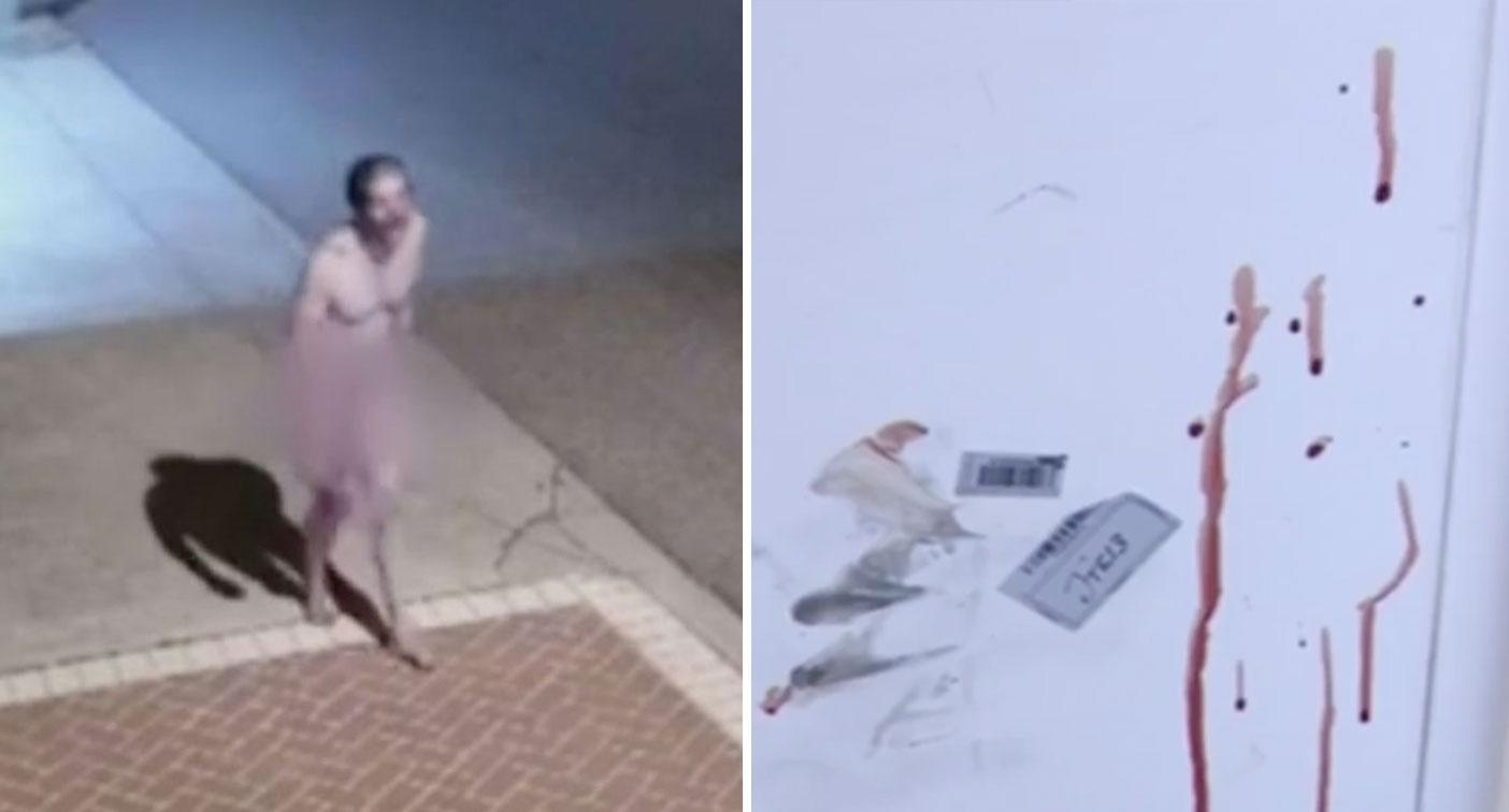 Man charged after naked, bleeding 'torture victim' walks down street yelling for help