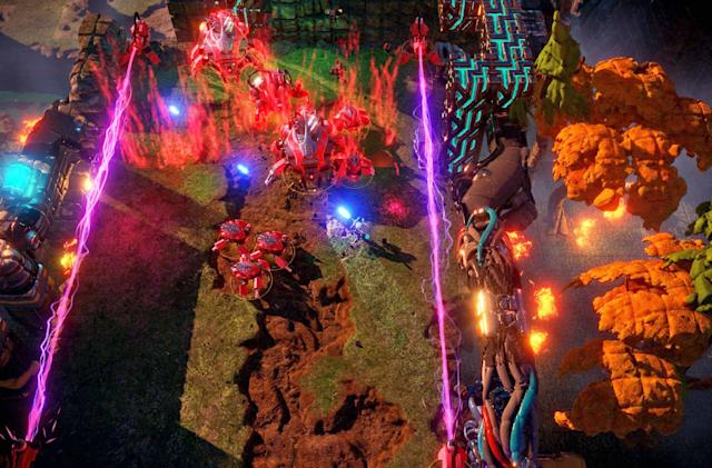 'Nex Machina' brings co-op robot slaughter to the couch June 20th