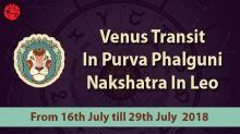 Venus In Purva Phalguni Nakshatra