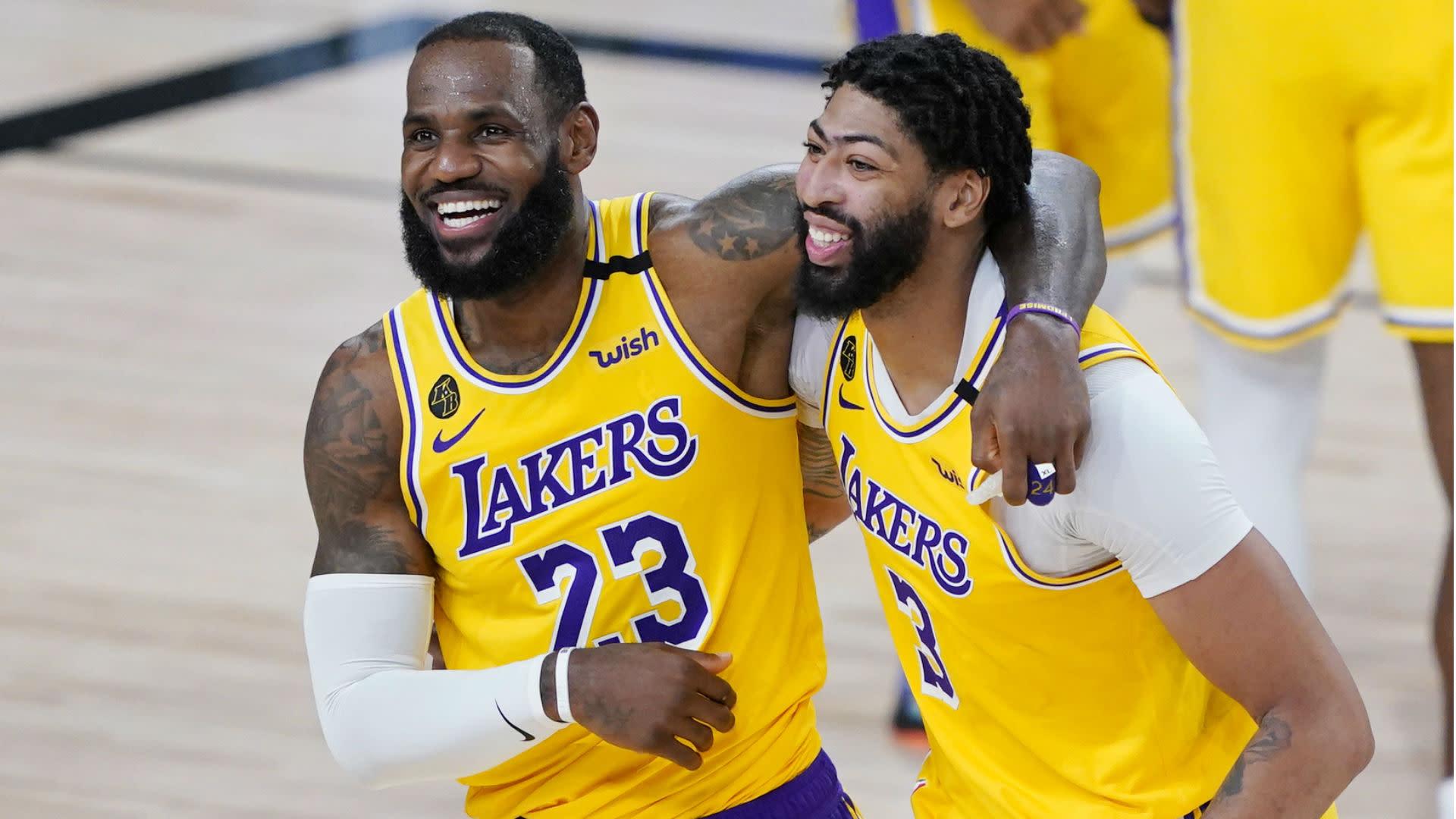 Lakers duo LeBron and Davis headline All-NBA First Team