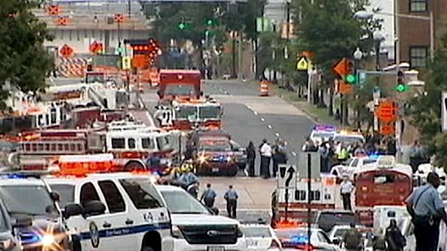 12 Civilians, Gunman Killed in Navy Yard Shooting