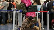 Travelers at Airports Angry and Frustrated