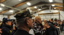 Sense of duty draws U.S. veterans to Dakota pipeline protest
