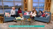 'This Morning' viewers shocked by guest who takes her 'reborn dolls' on dates