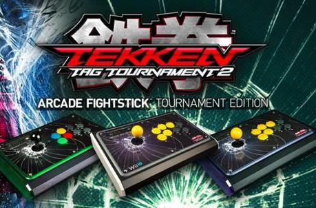 Tekken Tag Tournament 2 FightStick available for Wii U, PS3, and Xbox