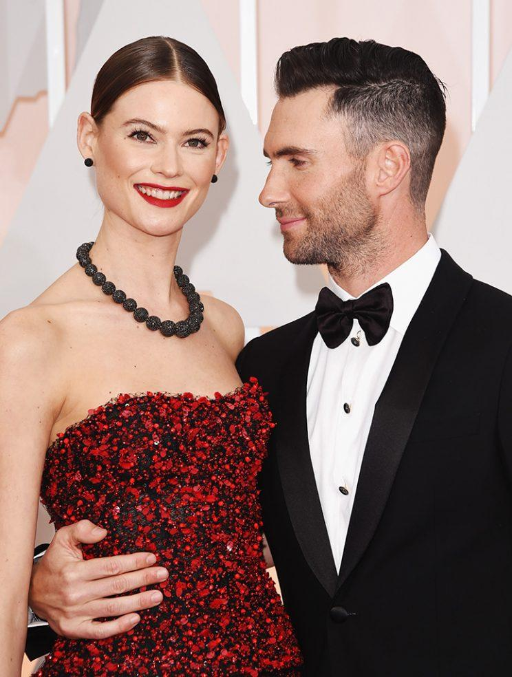 Adam Levine And Behati Prinsloo Share First Family Photo