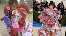 These adorable kids perfectly recreated top Met Gala outfits